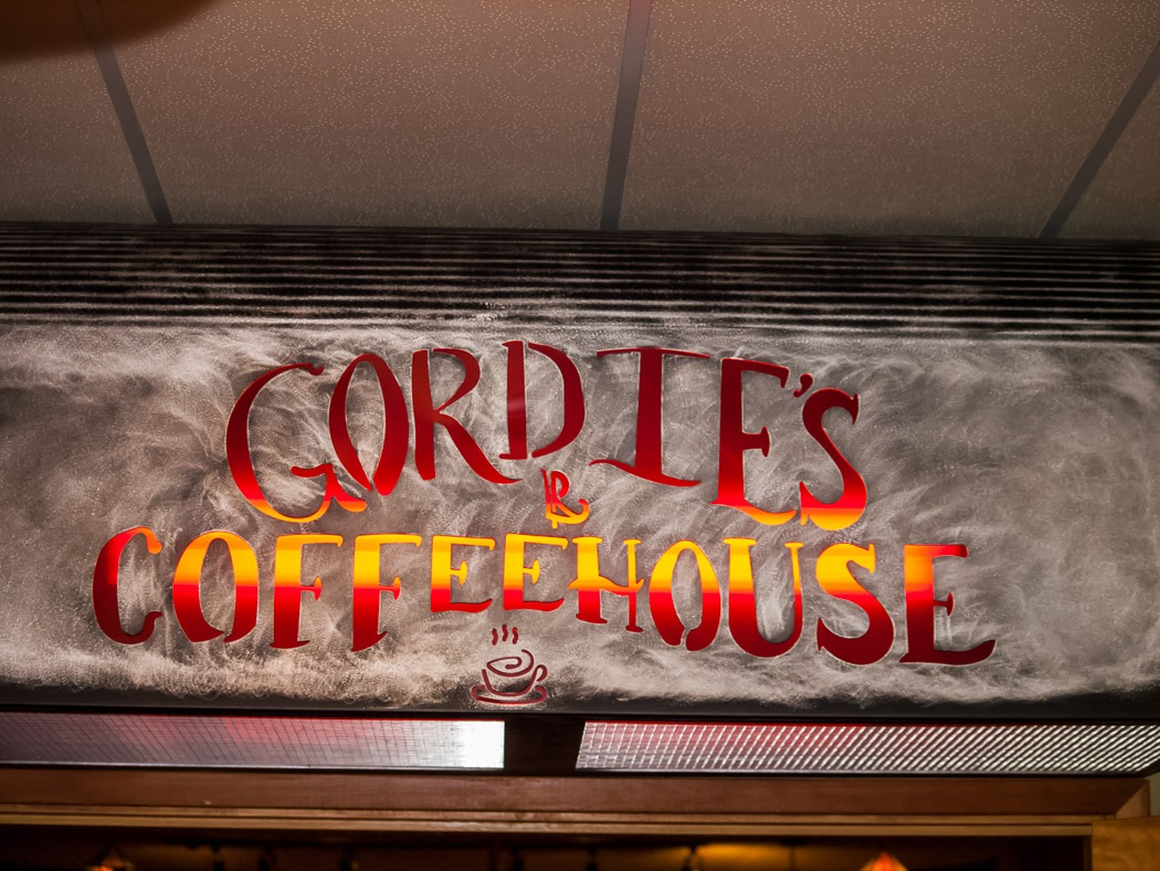 Welcome to Gordie's Coffee House