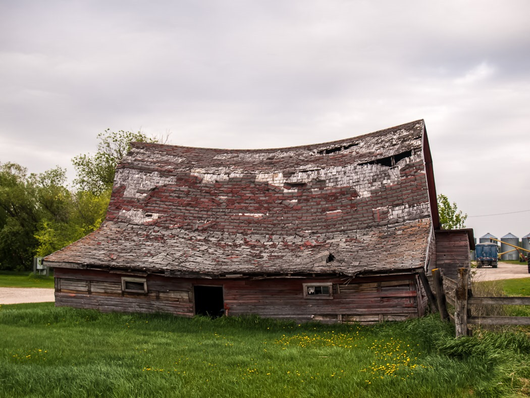 An Old Barn Along the Journey