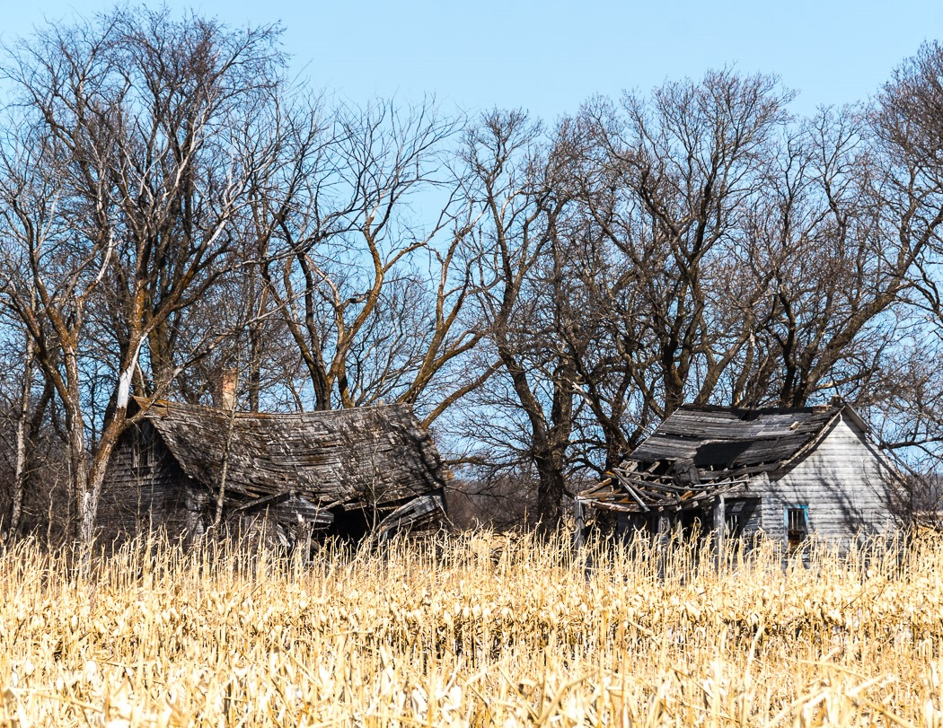 Old Homestead in Southern Manitoba