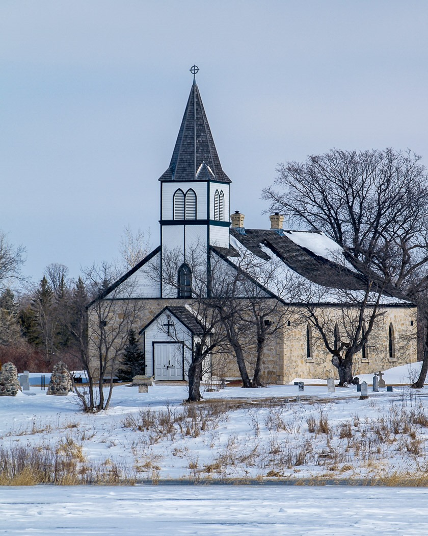 St. Peter's Church Dynevor ~ North of Selkirk, Manitoba