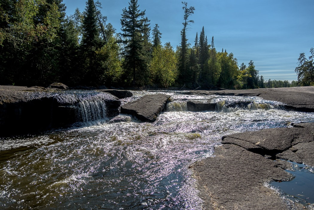 Pine Point Rapids on the Whiteshell River